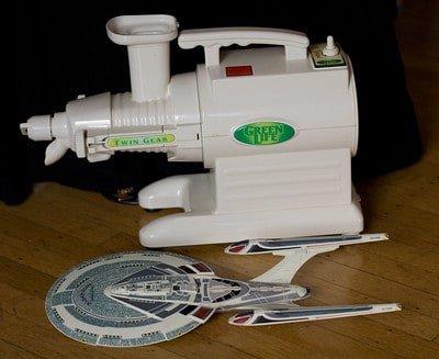 Green Life Twin Gear Juicer