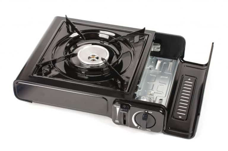 portable butane single burner stove