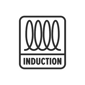 Induction (cooking) spiral, electrical symbol